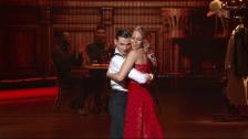 Video «Linda Fäh und Marc Stalder mit einem Tango zu «La Cumparista»» abspielen