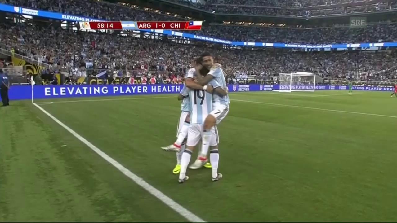 Argentinien siegt auch ohne Messi