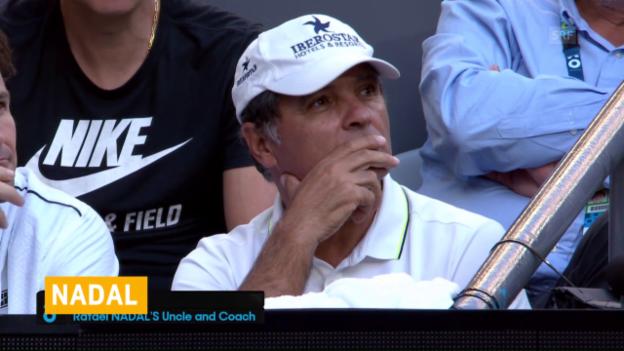 Video «Onkel Toni Nadal zieht sich zurück» abspielen