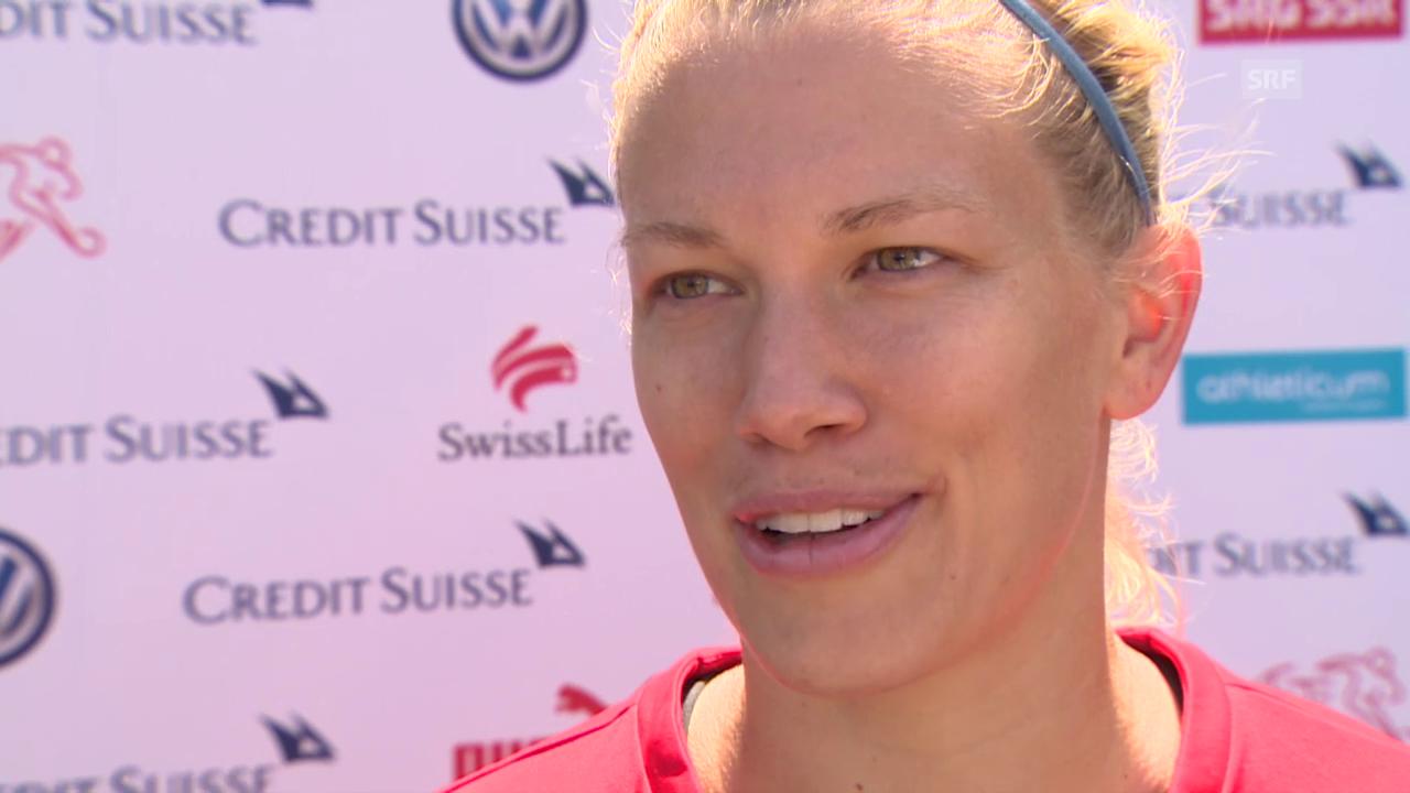 Fussball: Frauen-WM, Interview mit Lara Dickenmann