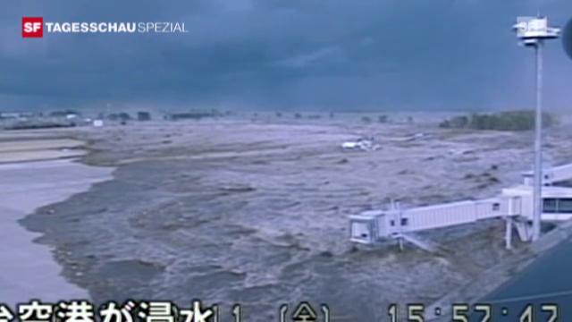 Erste Bilder aus Sendai (Tsunami)