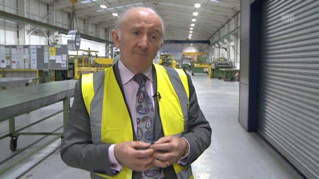 «Rundschau» 9.1.: Manager Tom McGuiness zur irischen Exportwirtschaft.