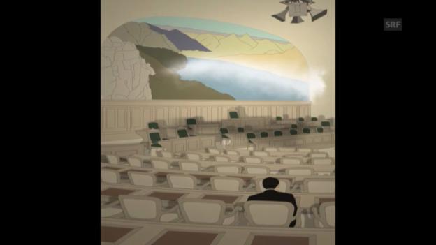 Video «Joëlle Flumets Animation «Petites dramaturgies fédérales»» abspielen