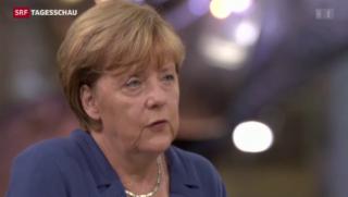 Video «Interne Zerreissprobe für Merkel» abspielen