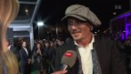 Video «Johnny Depp in Zürich» abspielen