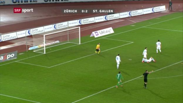 Video «Fussball: FCZ - St. Gallen («sportaktuell»)» abspielen
