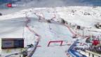 Video «Ski alpin: Kamera-Zwischenfall an der WM» abspielen