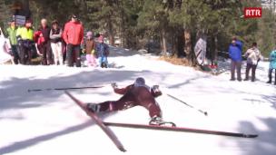 Laschar ir video «La costa dal guaud da Staz al maraton da skis»
