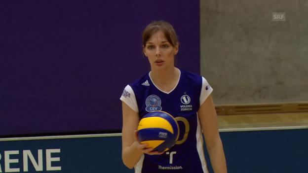 Video «Der Matchball von Volero Zürich» abspielen