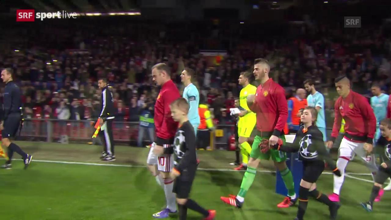 Fussball: Clip Manchester United