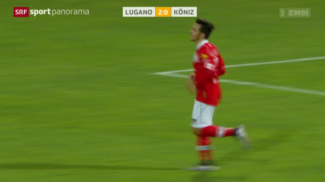 Fussball: Schweizer Cup, Lugano - Köniz