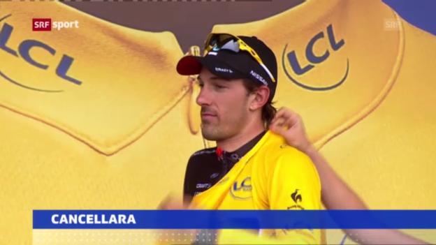 Video «Rad: Cancellara nicht an der Tour de France («sportaktuell»)» abspielen