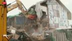 Video «Abbruch «Villa Rosenau»» abspielen