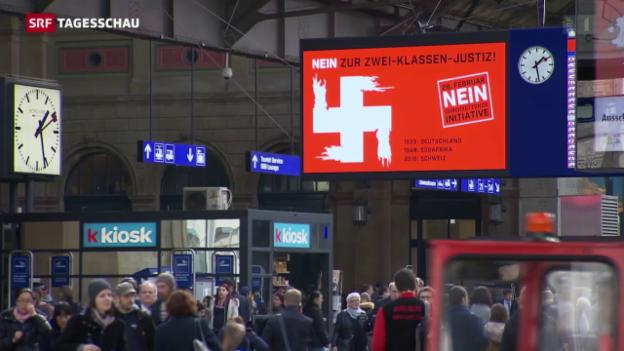 Video «Wo sind die Grenzen der Meinungs-Mobilisierung» abspielen