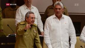 Video «Eine Ära geht zu Ende – Raúl Castro tritt bald ab» abspielen