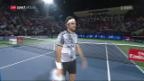 Video «Federer lässt Paire keine Chance» abspielen