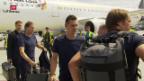 Video «Rückkehr der deutschen Nationalmannschaft» abspielen