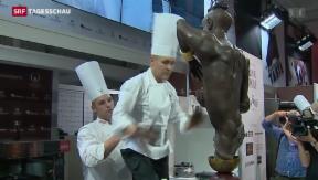 Video «Weltmeisterschaften der Chocolatiers » abspielen
