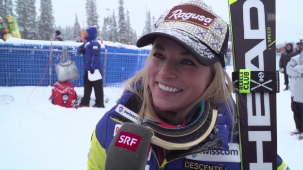 Video «Lara Gut: «Gewinnen tut immer gut»» abspielen