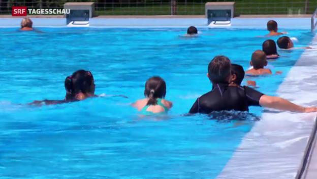 Video «In vielen Schulen gibt keinen Schwimmunterricht» abspielen