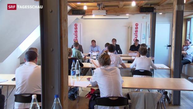 Video «Ambitionierte Lohnverhandlungen» abspielen