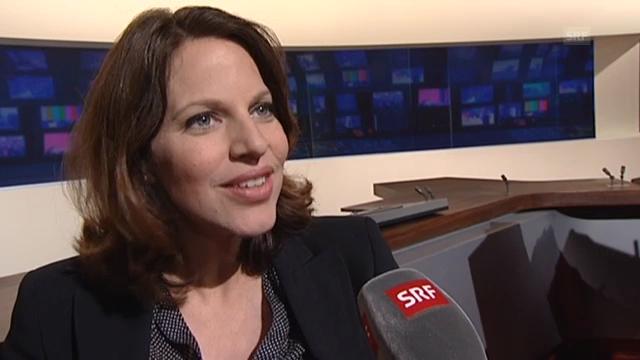 Andrea Vetsch über ihren Job als Schwangere