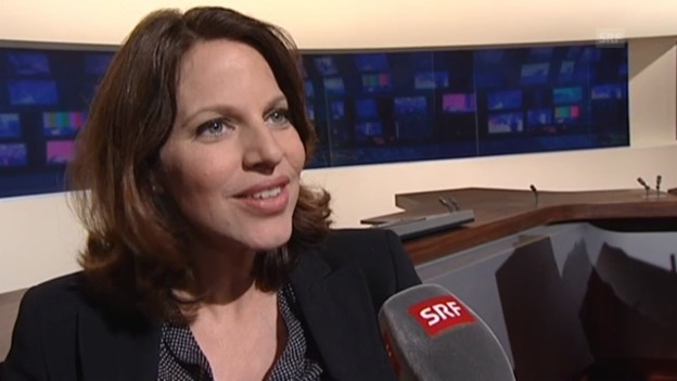 Video «Andrea Vetsch über ihren Job als Schwangere» abspielen