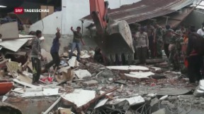 Video «Erdbeben in Indonesien» abspielen