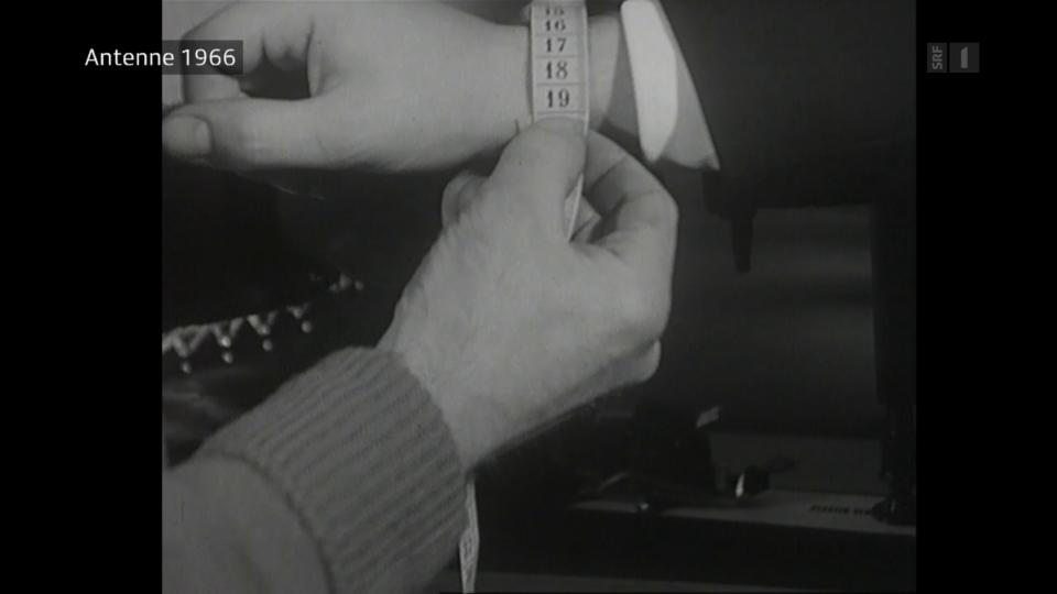 In den 60er Jahren für die Bindungseinstellung relevant: Der Handgelenkumfang.