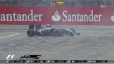 Video «Formel 1: GP Deutschland, Ausfall Sutil» abspielen