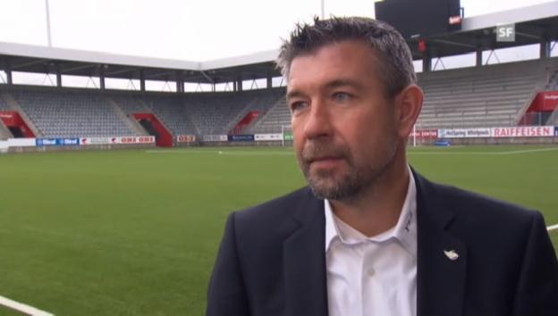 Video «Der neue Thun-Trainer Urs Fischer im Interview.» abspielen