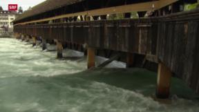 Video «Hochwasser, Flüchtlinge bei Schweizern, das Wallis im Vatikan» abspielen