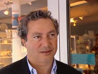 Bernhard Russi unterwegs mit Investor Sawiris