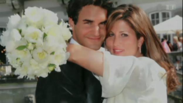 Video «Kein Paar so schön wie Roger und Mirka Federer» abspielen