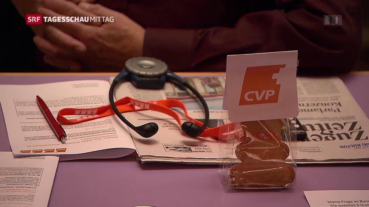 CVP-Delegiertenversammlung in Cham