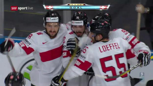 Video «Haas' Sturmlauf: Der Schweizer Treffer zum 1:1» abspielen