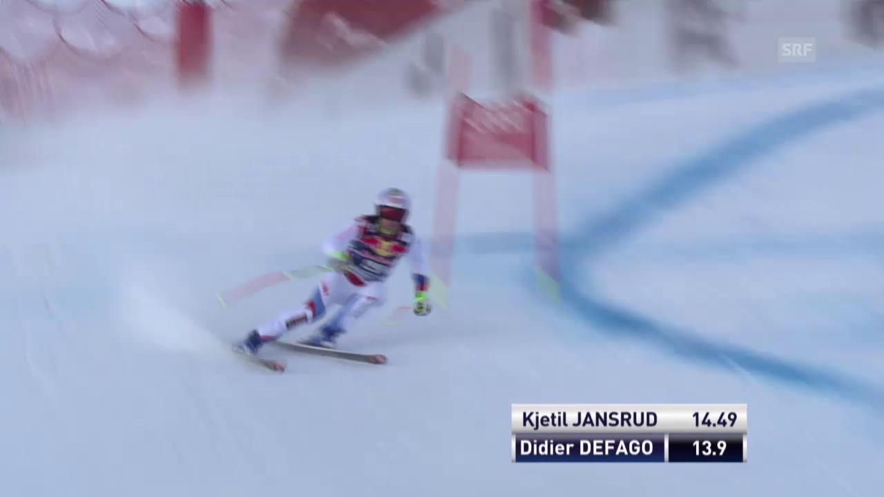 Ski alpin: Weltcup der Männer, 2. Traininig zur Abfahrt in Kitzbühel