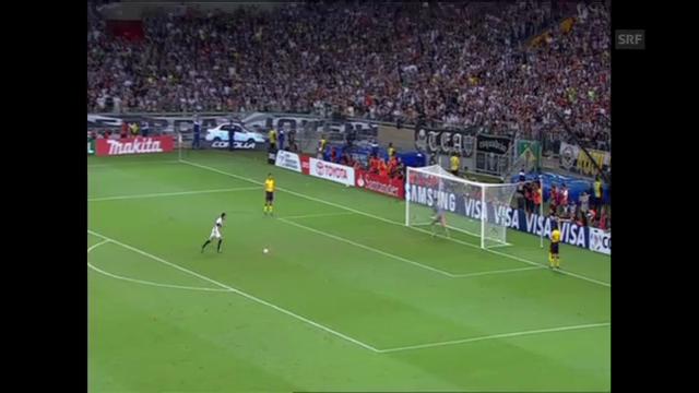 Highlights Atletico Mineiro - Olimpia Asuncion (unkommentiert, Quelle: SNTV)