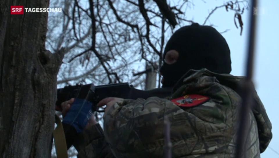 Heftige Gefechte trotz Feuerpause in der Ukraine