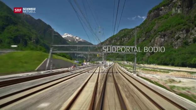 Video «Leventina vor der Tunnel-Eröffnung» abspielen