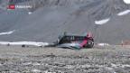 Video «Zwanzig Tote bei Flugzeugabsturz im Kanton Graubünden» abspielen