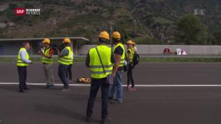 Video «Neue Autobahn, billig fliegen, Tessin entdecken» abspielen