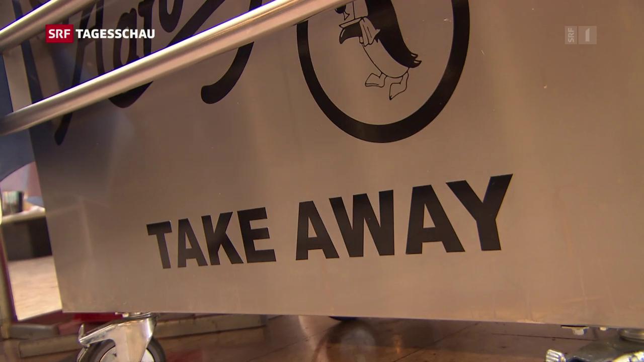 Bern kämpft gegen Take Away-Müll