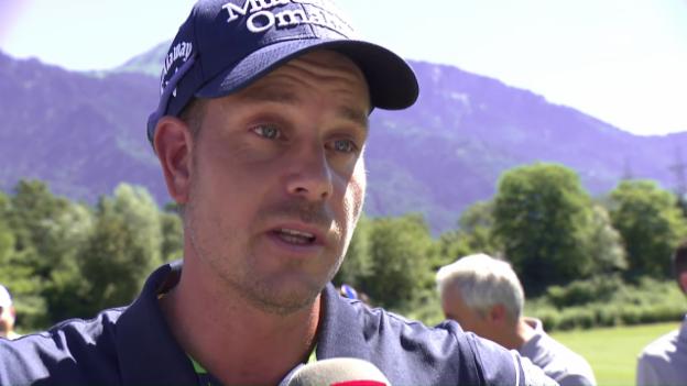 Video «British-Open-Sieger Stenson im Interview» abspielen
