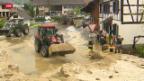 Video «Millionenschäden nach Gewitter» abspielen