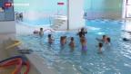 Video «Jedes dritte Schweizer Schulkind hatte nie Schwimmunterricht» abspielen