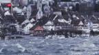 Video «Sturmtief «Evi» fegt durch die Schweiz» abspielen