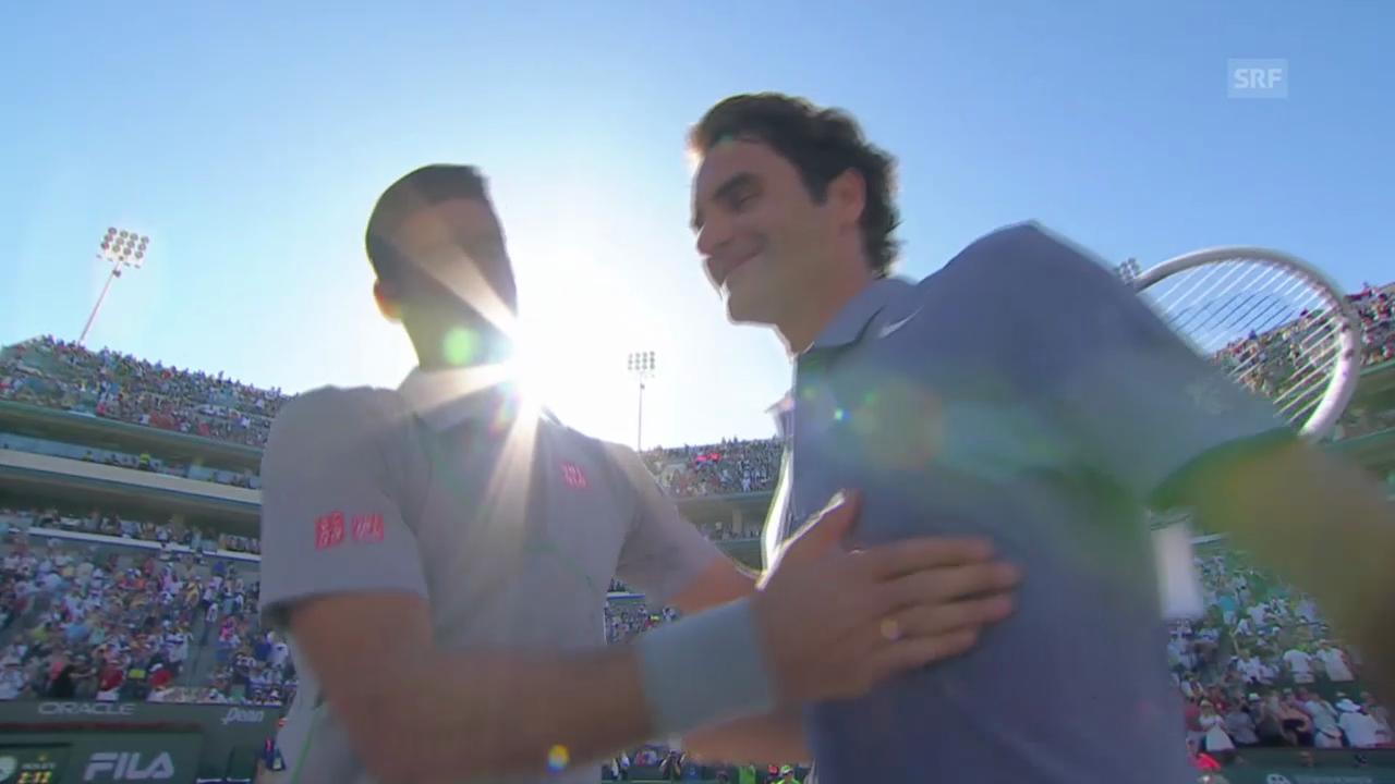 Tennis: Indian Wells, Final Federer - Djokovic («sportlive«, 16.03.2014)