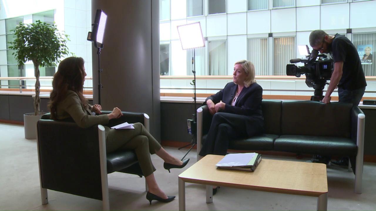 Marine Le Pen im «Rundschau»-Gespräch
