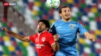 Video «Fussball: Thun - Satschchere» abspielen